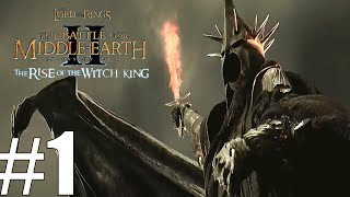 The Lord Of The Rings: The Battle For Middle-earth 2 The Rise of the Witch-king Angmar Part 1