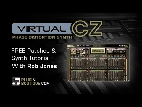 VirtualCZ Synth Plugin - Sound Design Tutorial & Free Patches - With Rob Jones