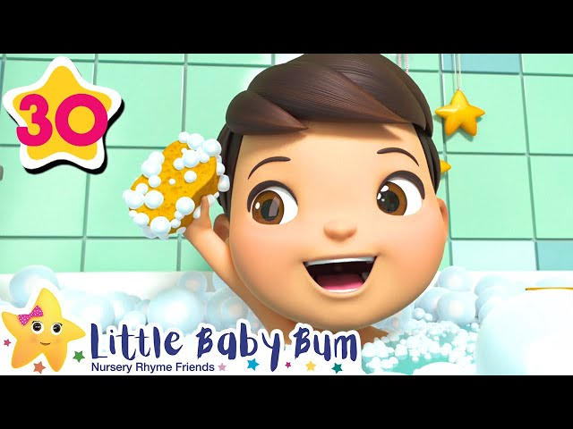 Bath Song | +More Nursery Rhymes & Kids Songs | Baby Songs | Little Baby Bum