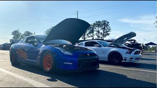 Competing Paralyzed 1st Time In Event! GTR VS TT Mustang!!