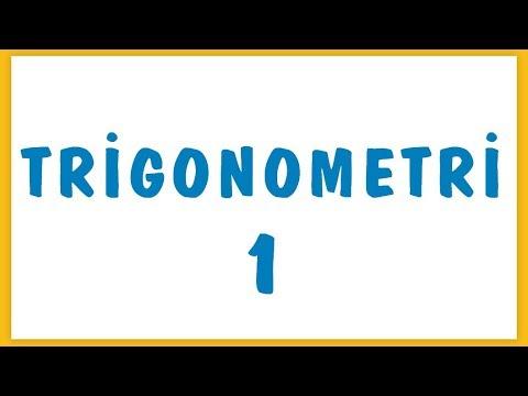 Trigonometri 1 Şenol Hoca Matematik