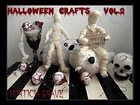 Halloween Crafts D.I.Y vol.2 ( easy & cheap )