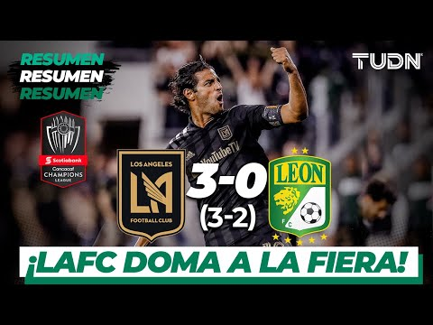 Resumen y goles | Los Ángeles FC 3 - 0 León | CONCACAF Champions - 8vos Vuelta | TUDN