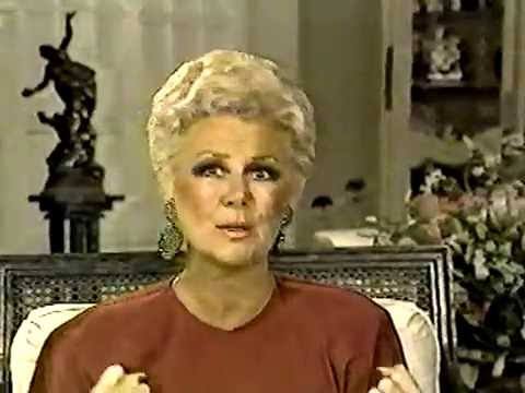 Television (movie, nightclub) legend: Mitzi Gaynor on her birthday