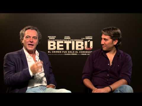 """Entrevista a José Coronado y Alberto Ammann por """"Betibú"""""""