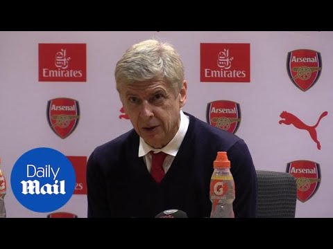Arsenal 1-2 Watford: Press conference with Arsene Wenger - Daily Mail