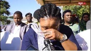 Naibu Waziri wa Walemavu amwaga machozi akiongea alivyoguswa (MARIA NA CONSOLATA)