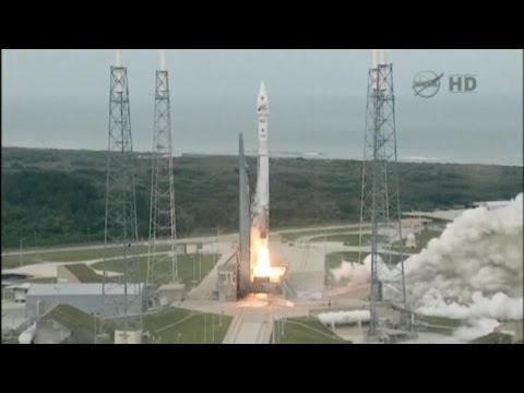 Blast Off! NASA Launches Maven Spacecraft to Mars - YouTube