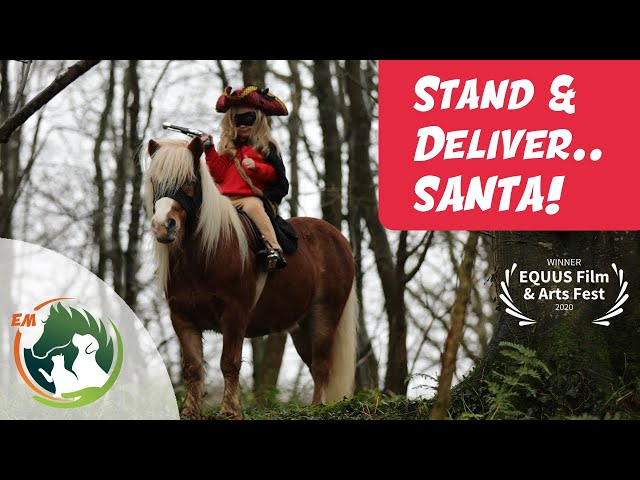 Stand & Deliver Santa! ¦ Christmas Pony Video