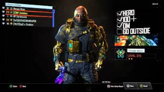 kid reset prestige master level 180 account with dark matter hero gear and dlc weapons