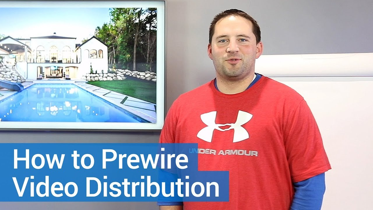 Video Distribution How To Wire A Smart Home Youtube Wiring For New Homes