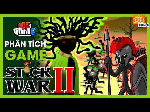 tai game anh hung truyen thuyet stick hack - Phân Tích Game: Stick War 2 - Người Que Đại Chiến Medusa #2 | meGAME