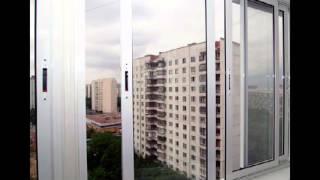 Пластиковое остекление балкона в Нижнем Новгороде.(, 2016-04-09T08:19:36.000Z)