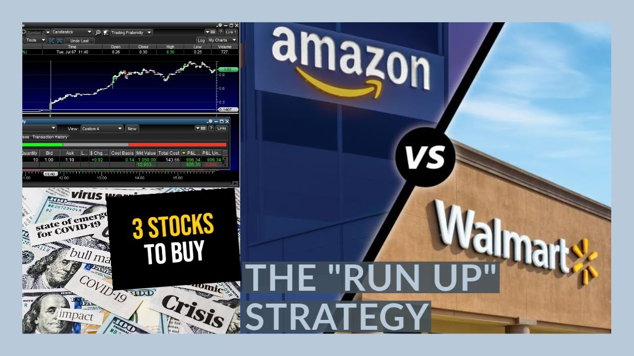 How I turned $100 Into $1,000 In 2 HOURS Trading WMT Stock - My Watchlist - 3 STOCKS TO BUY NOW!