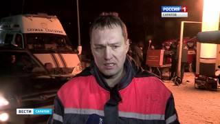 Мужчина и двое детей провалились под лед в Саратове. Официальные комментарии