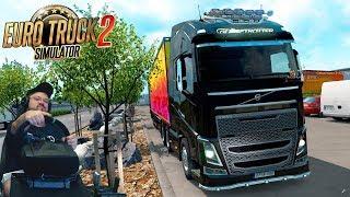 Перегруженный онлайн сервер и дорога дураков, это будет что-то! Euro Truck Simulator 2