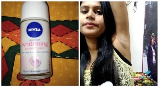 Nivea Deodorant Whitening Smooth Skin Roll on Honest Review After Using