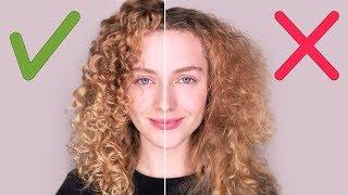 ТОП 10 ошибок в уходе за волосами