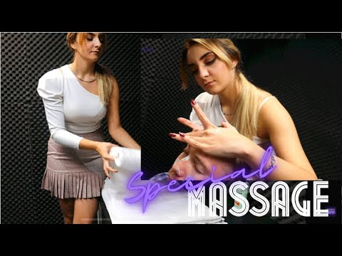 Download ASMR MASSAGE   'Miss Ece' - Head,Face and Special Ear Massage