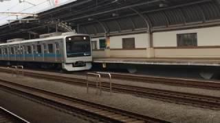 【鉄道動画】千歳船橋駅にて 小田急3000形出発シーン