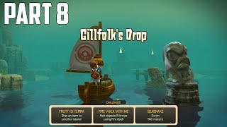 Oceanhorn: Monster of Uncharted Seas - 100% Walkthrough Part 8 [PS4] –  Gillfolk's Drop