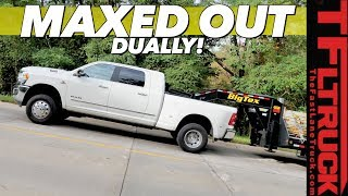Here's How Your Truck is Tow Rated - We Drive 31,000 Pounds Up A HUGE hill to Test SAE J2807!