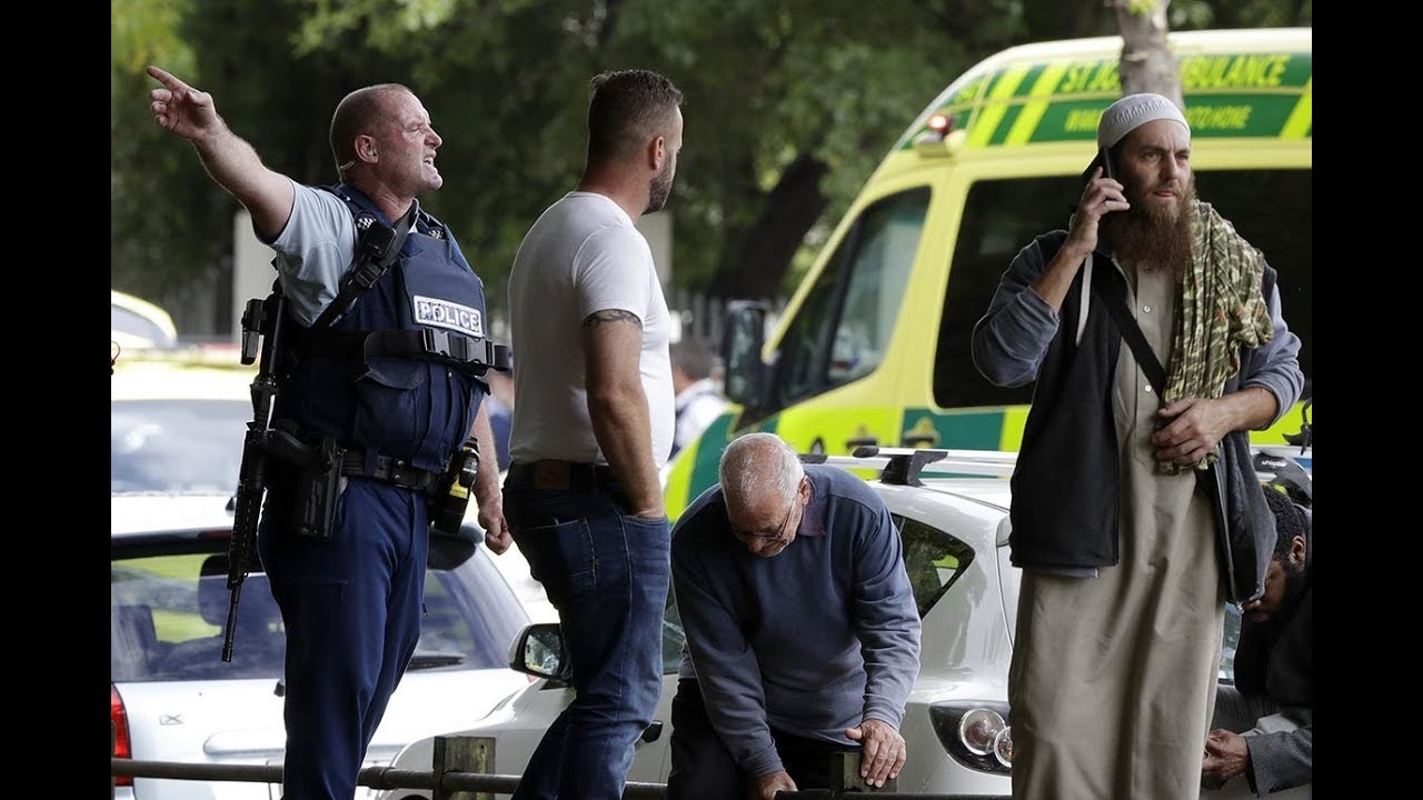 See who's being blamed for what happened in Christchurch New Zealand - As usual