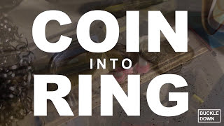 How to Make a Coin Ring From an Australian Florin. Best Method.