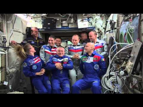 News Conference from the ISS
