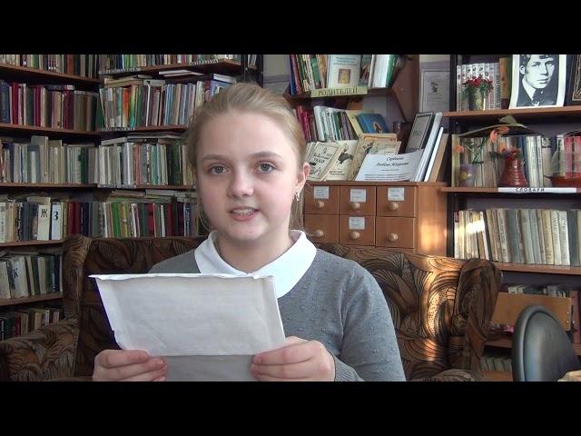 Изображение предпросмотра прочтения – ДарьяБирюкова читает произведение «О доблестях, о подвигах, о славе» А.А.Блока