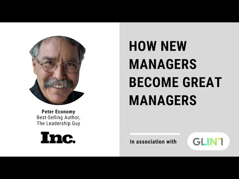 How New Managers Become Great Managers