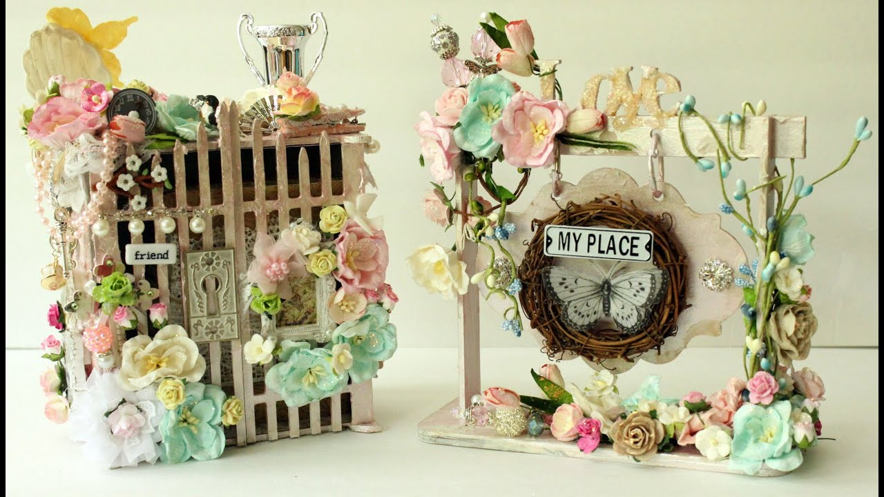 beautiful shabby chic projects chic soft feminine handmade rh youtube com DIY Shabby Chic Crafts shabby chic crafts to make and sell