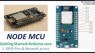 Video NODEMCU - Getting started with Arduino core 1. GPIO & Network Access download MP3, 3GP, MP4, WEBM, AVI, FLV Oktober 2018