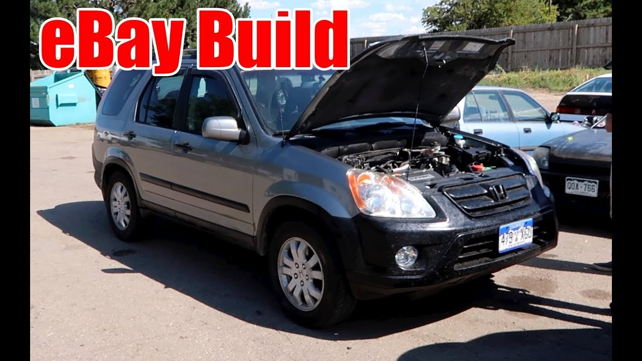 eBay Turbo AWD CRV