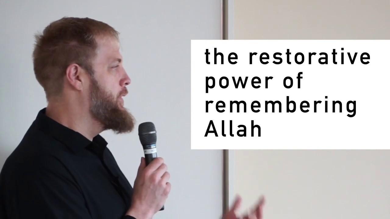 Sheikh Suhaib Webb on Remembering Allah - YouTube
