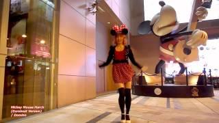 【踊ってみた】Mickey Mouse March (Eurobeat Version) / Domino