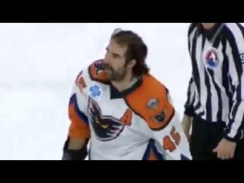 Hockey Fights: 11-29-14 Zack Stortini vs  Jared Nightingale