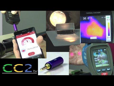 CC2tv - Versteckte Kameras finden mit winzigen Infrarot-Dongle