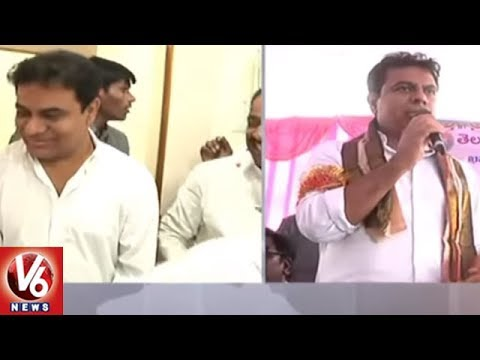 Minister KTR Speech | Inaugurates Development Works In Khammam | V6 News