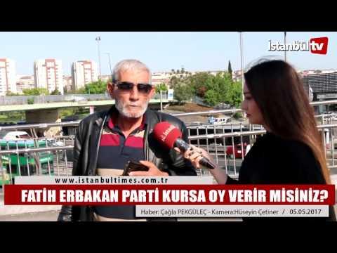 Fatih Erbakan Parti Kursa Oy Verir Misiniz?