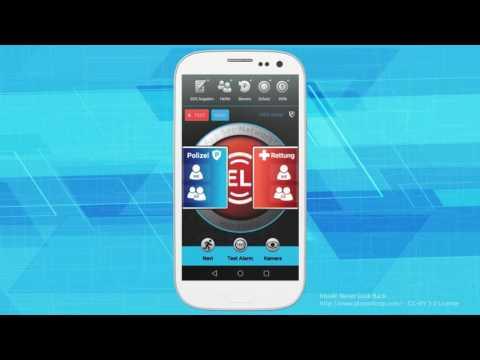 HandHelp | Notruf / emergency App | Android - Einrichtungsvideo / tutorial (sub de & en)