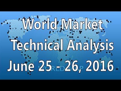 [ Weekend ] World Market Technical Analysis June 25-26, 2016