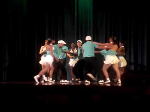 Los Aseres del Casino en las Eliminatorias del Caracas Dance Festival 2010
