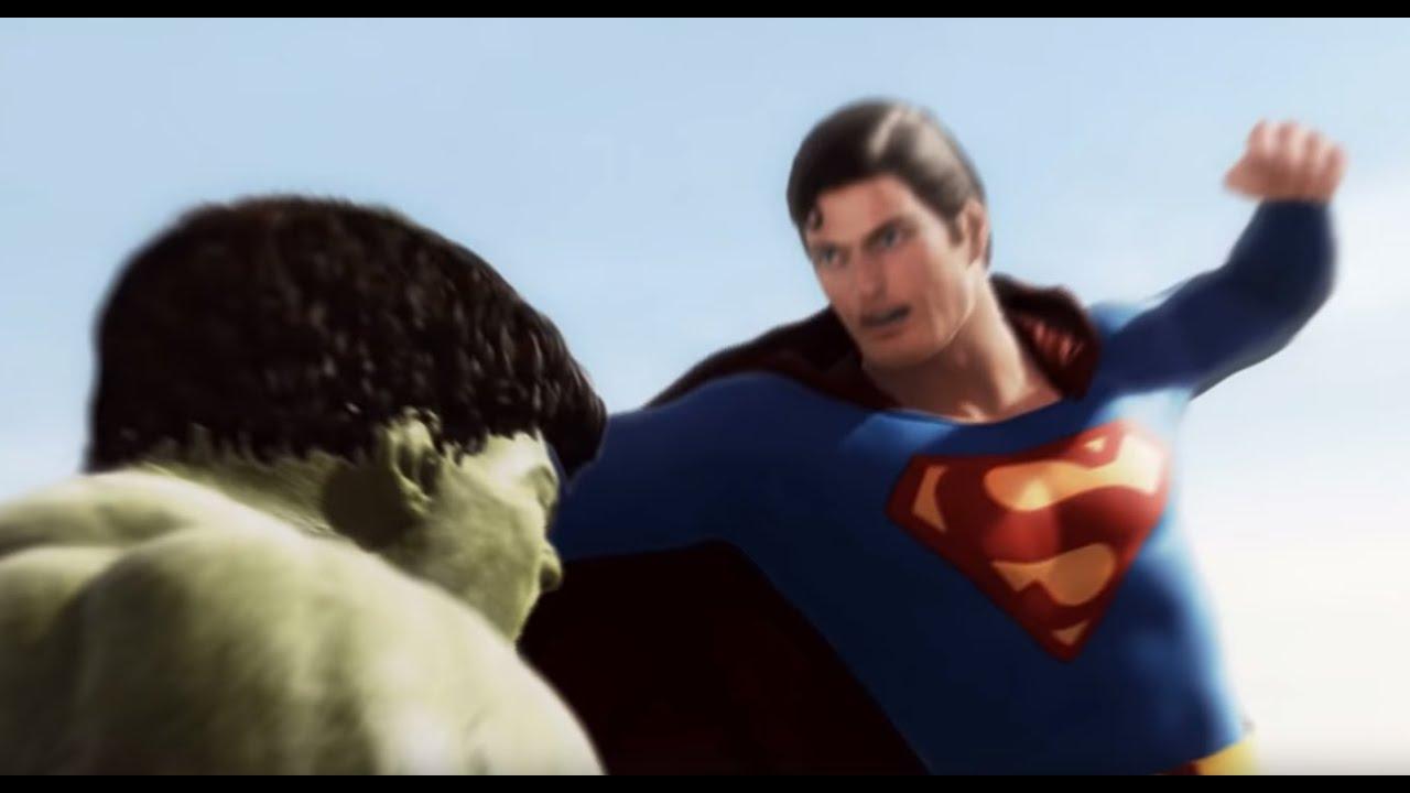 Download Superman vs Hulk - The Fight  (Part 1)