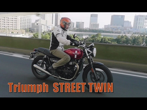 test ride review triumph street twin youtube. Black Bedroom Furniture Sets. Home Design Ideas