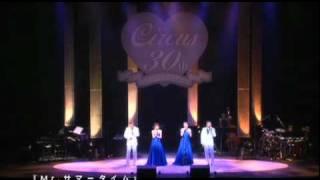 2008年3月サーカス30周年コンサートにて.