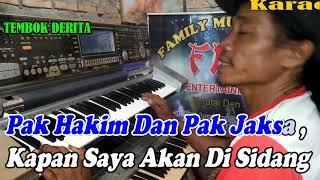 Download Tembok Derita By Hamdan ATT   Versi Patam Manual    KARAOKE KN7000 FMC