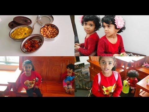 a-school-morning-routine---caramel-popcorn,-onion-tomato-chutney---yummy-tummy-vlog