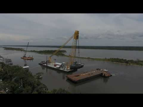 Salvage of the Tug Tutahaco in Ormond Beach, Fl