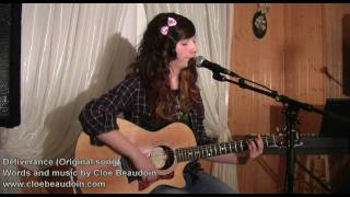 Repeat youtube video Deliverance-original song by cloebeaudoin (Inspired by a suicide note)